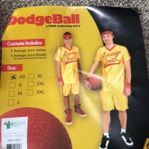 Dodgeball HALLOWEEN Costume- XS